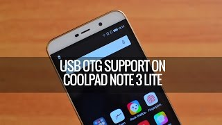USB OTG on Coolpad Note 3 Lite