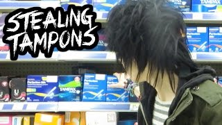 Messing With Tampons | MyDigitalEscape