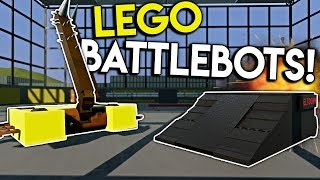 LEGO BATTLE BOTS CHALLENGE! - Brick Rigs Multiplayer Gameplay - Lego Toy Creations