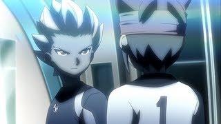 Inazuma eleven GO Crossover match Shinsei Inazuma Japan vs Inazuma Legend Japan HD