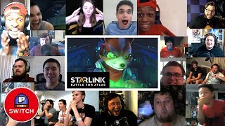 Live Reaction | STARLINK: Battle for Atlas (Star Fox Trailer) | E3 2018 |  Synched Compilation