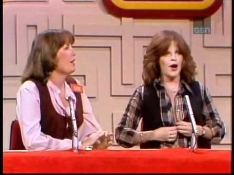 Debralee Scott exposes her breasts on Password Plus game show from 1979
