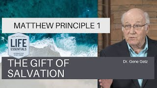 Matthew #1: The Gift of Salvation