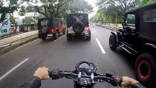 Chasing Toll Jumpers & Wishing Movie Stars | Mahindra Thar | Honda Dio trying to be a KTM Duke
