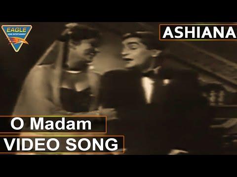 Ashiana Hindi Movie || O Madam Video Song || Nargis, Raj Kapoor || Eagle Hindi Movies
