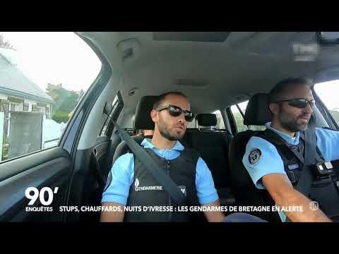 90 enquêtes Stups chauffards nuits d ivresse les gendarmes de Bretagne en alerte