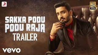 Sakka Podu Podu Raja - Official Tamil Trailer 2 | Santhanam, Vaibhavi | STR