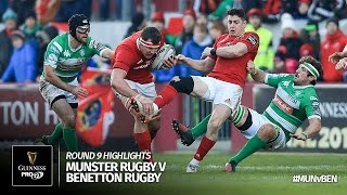 Round 9 Highlights: Munster Rugby v Benetton Treviso | 2016/17 season