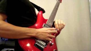 War  Joe Satriani  Cover Version