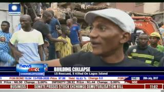 Resident Blames Mast Erection For Collapsed Building