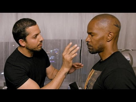 Jamie Foxx Invisible Touch Trick Real or Magic David Blaine
