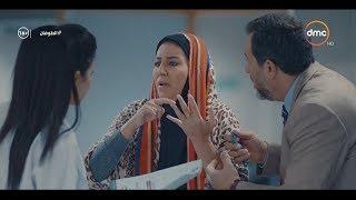 رد فعل كوميدي من منيرة لما عرفت انها حامل بعد 15 سنة .. ( أنا بحبك أوي يا حاج خالد ) #الطوفان