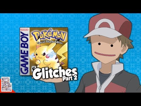 Glitches in Pokémon Yellow (Part 2) - Those Pixels Look Weird - Glitches With DPadGamer