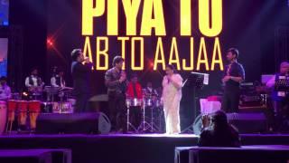 Asha Bhosle, Mika Singh & Javed ali live