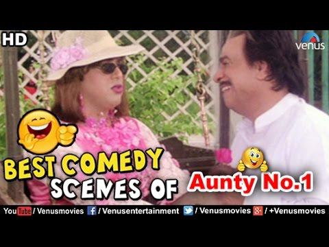 Best Comedy Scenes of Govinda & Kader Khan | Hindi Comedy Movies | Aunty No 1 | Hindi Movies