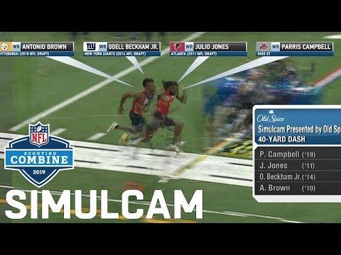 40 Yard Dash Simulcam Metcalf vs. Julio Ramsey Sherman Haskins vs. Baker & More