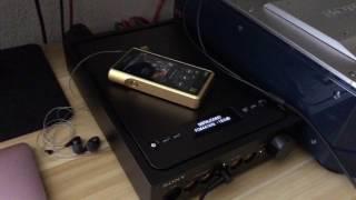 Sony Signature Series & Super Audio CD player [No Audio]
