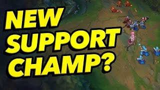 A New SUPPORT Champ? - Next Champion Info & Theory - League of Legends