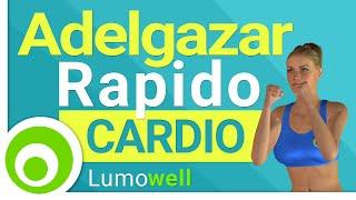 Adelgazar Rápido. Ejercicios de Cardio para Bajar de Peso   Rutina Completa de 35 minutos