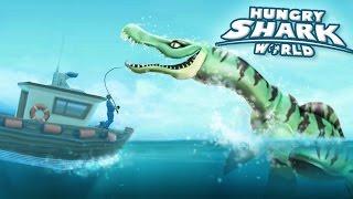 New Shark Drago The Pliosaur!!! - Hungry Shark World | Ep 44 HD