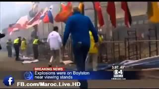 انفجاران ضخمان في مدينة بوسطن الأمريكية