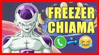 FREEZER CHIAMA - Scherzo telefonico - DRAGONBALL PRANK CALL