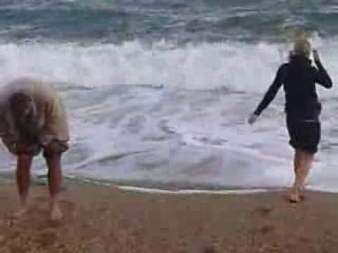 Fürdés a tengerben