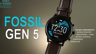 NEW FOSSIL GEN 5   [Fossil Tries to Fix The SmartWatch]  - WearOS, Battery Controls