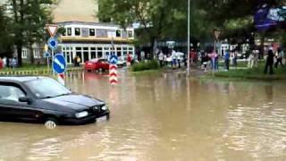 Záplavy Prievidza 2010