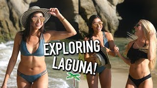 We Found a Cave in Laguna Beach + Country Dancing!