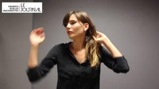 Le Journal des Grandes Ecoles et Universités au Paris Fashion Show de l