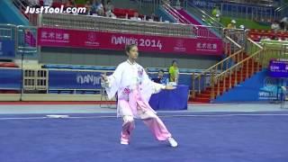 Nanjing 2014 Youth Wushu Tournament - Wushu (Taolu) - Women's Taijiquan (Tai Chi Chuan) - 2nd Place