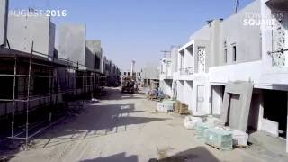 Town Square Dubai Construction Drone footage in August 2016.
