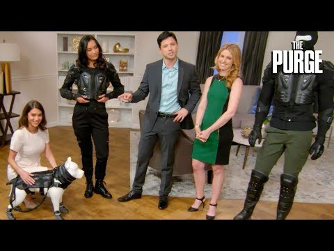 The Purge (TV Series) | Purge Shopping Channel: Essential Products | on USA Network