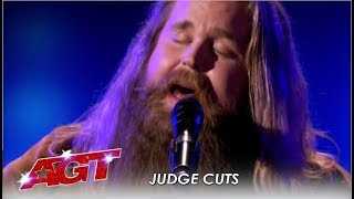 Chris Kläfford: Swedish Singer WOWS America With An Original Song! | America's Got Talent 2019