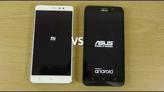 Xiaomi Redmi Note 3 VS Asus Zenfone 2 (4GB) - Speed Comparison!