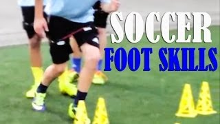Soccer Training with Kinetic Bands | Soccer Foot Skills