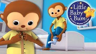 Getting Dressed Song | US Version | Nursery Rhymes by LittleBabyBum!