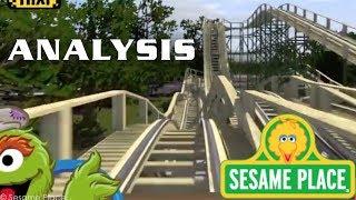 Oscar's Wacky Taxi Analysis Sesame Place New for 2018 Roller Coaster