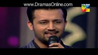 Atif Aslam Brilliant Performance In Hum Awards  2016