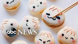 This bakery makes the cutest macaroon characters