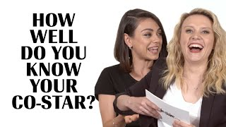 Kate McKinnon Literally Fights Mila Kunis To Avoid Embarrassment   How Well Do You Know Your Co-Star