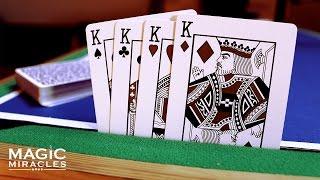 Štyria Králi // Návod na jednoduché kúzlo s kartami
