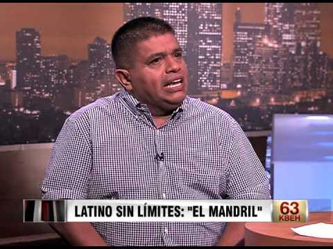 CNN Sin Limites con Elizabeth Espinosa Entrevista a Ricardo Sanchez El Mandril