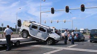 Latest Car Accident of Hummer H1 - Road - Crash - Compilation - Traffic - 2016 - 2017 - 2018