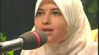 Best female Quran reciter, Sumayya EdDeeb: reciting Surat Al-Fajr