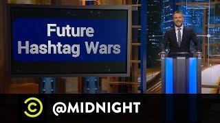 Jen Kirkman, Tom Lennon and Rhys Darby - Future #HashtagWars - @midnight with Chris Hardwick