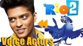 """""""Rio2"""" (2014) Voice Actors and Characters"""