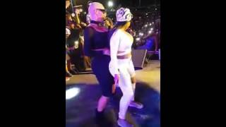 Blac Chyna, Amber Rose Twerking Dancing on Stage Together