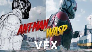 How Marvel Built the VFX in Ant-Man and the Wasp   WIRED